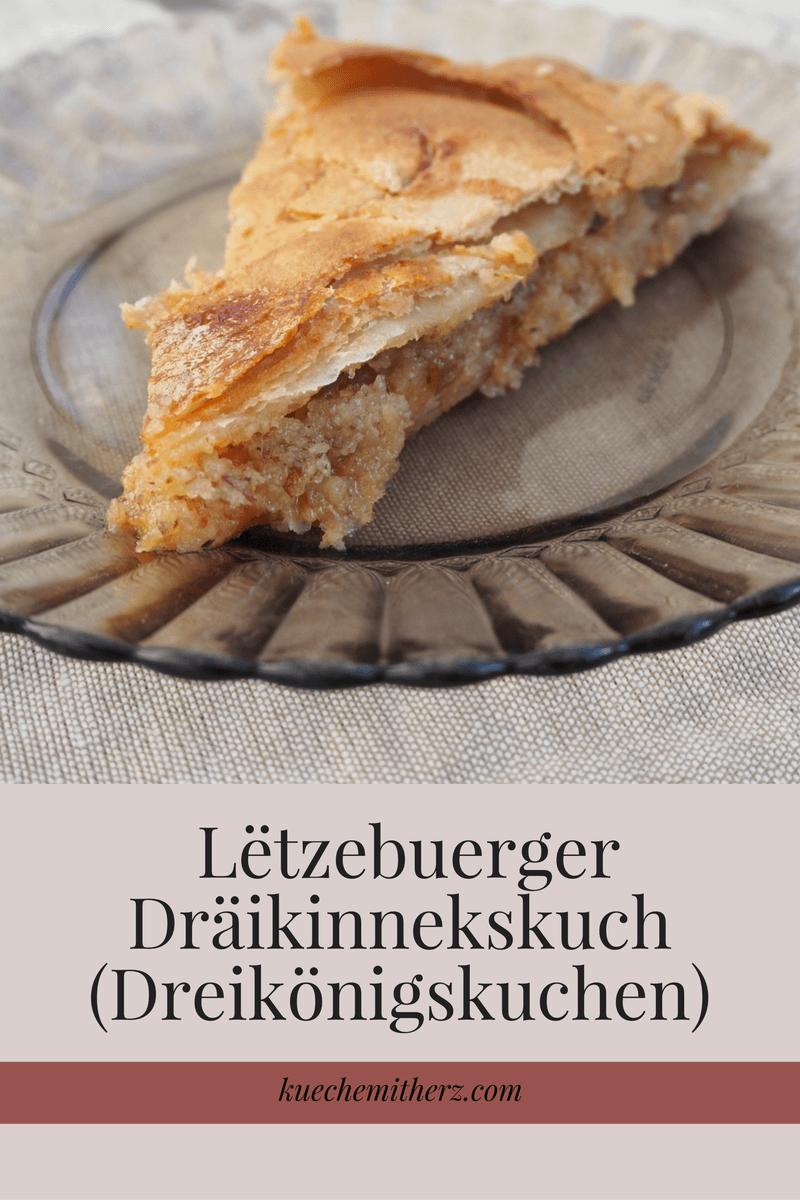 Lass die zum Dreikönigsfest einen luxemburgischen Dräikinnekskuch munden! | Finde das Rezept auf kuechemitherz.com