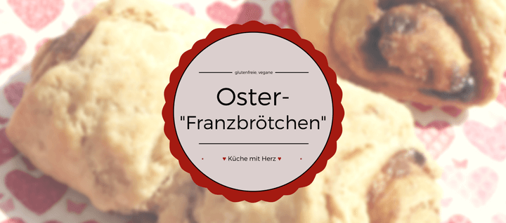 Ihr wollt leckere Franzbrötchen haben, die nicht nur glutenfrei, sondern auch vegan sind? Nicht nur für das Osterfrühstück zu empfehlen! Finde das Rezept jetzt auf kuechemitherz.com
