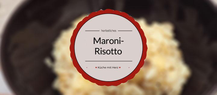 Mein Rezept für ein wunderbares Maronen-Risotto. Es schmeckt perfekt im Herbst und kann leicht nach eigenem Geschmack abgewandelt werden. Probier es aus!